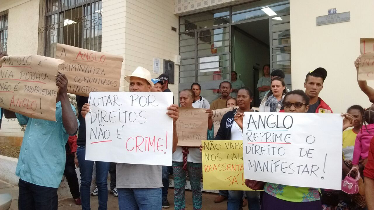 Não à criminalização da luta e da resistência popular!